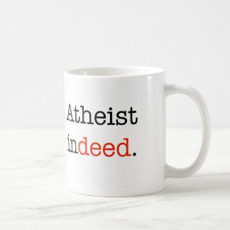 Atheisten-tatsächlich Kaffee-Tasse Tasse