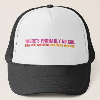Atheistische Bus-Kampagne Truckerkappe