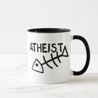 Atheistische Fische Tasse