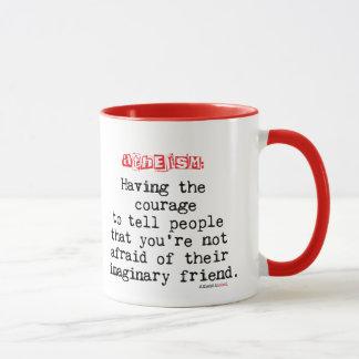 Atheistische Kaffee-Tasse - Definition von Tasse