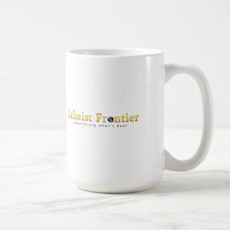 Atheistische LIEBE (für Kaffeesüchtige, etc.) Kaffeetasse