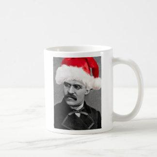 Atheistische Nietzsche WeihnachtsTasse Kaffeetasse