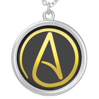 Atheistische Symbol-Halskette