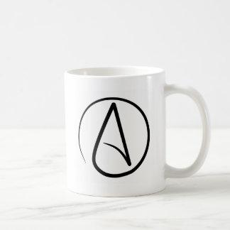 Atheistische Symbol-Kaffee-Tasse Tasse