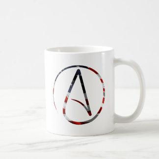 Atheistischer Amerikaner Teetassen