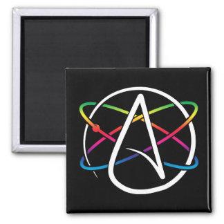 Atheistischer Atom-Regenbogen Quadratischer Magnet