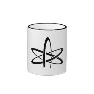 Atheistischer Becher Ringer Tasse