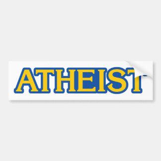 Atheistischer Gamer Autoaufkleber
