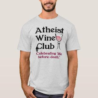 Atheistischer Weinverein T-Shirt