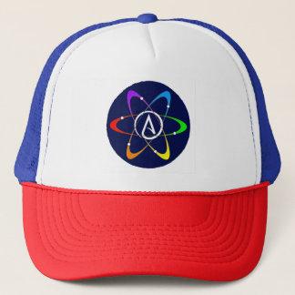 Atheistisches Atom-Symbol Truckerkappe