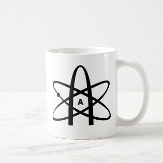 Atheistisches Atom Tasse