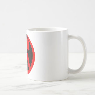 Atheistisches Symbol Tasse