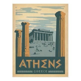 Athen, Griechenland Postkarte