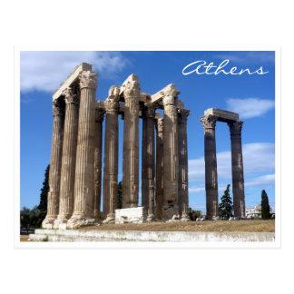 Athen-Tempel Zeus Postkarte