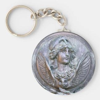 Athene-Schild Schlüsselanhänger