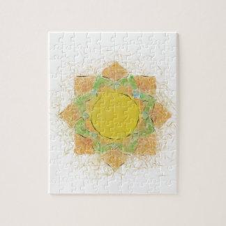 Ätherische Lotos-Blume Puzzle