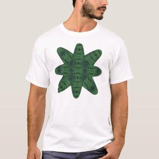 Ätherischer Diamant-Stern (Malachit) T-Shirt