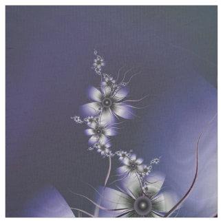 Ätherischer Lavendel mit Blumen Stoff