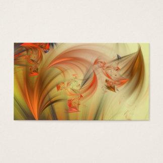 Ätherisches Fraktal Visitenkarte