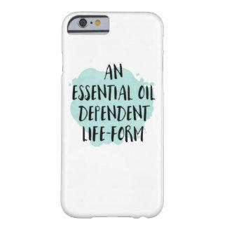 Ätherisches Öl abhängiger Leben-Form Barely There iPhone 6 Hülle