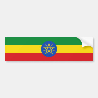 Äthiopien/äthiopische Flagge Autoaufkleber