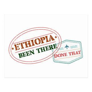 Äthiopien dort getan dem postkarte