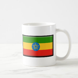 Äthiopien-Flagge Kaffeetasse