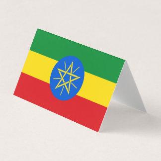 Äthiopien-Flagge Karte