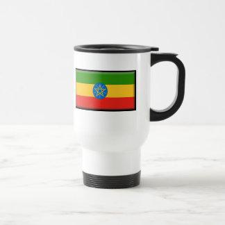 Äthiopien-Flagge Reisebecher