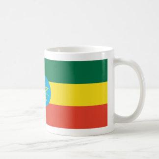 Äthiopien-Flaggen-Kaffee-Tasse Kaffeetasse
