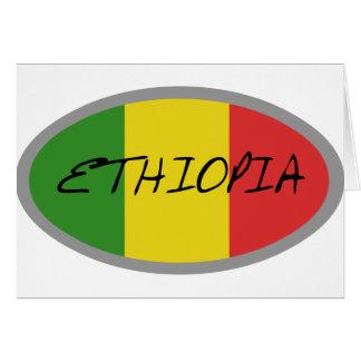 Äthiopien-Flaggenentwurf! Karte