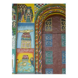 Äthiopien:  Tigray Region, Axum, Christus-Kirche, Postkarte