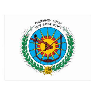 Äthiopien-Wappen (1975) Postkarte