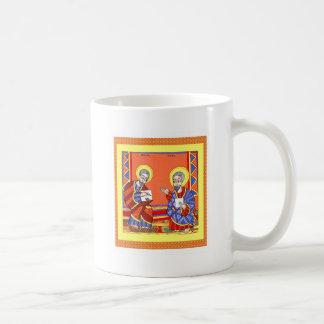 Äthiopisch-Bibel-Heilig-Luke-Heilig-John Kaffeetasse