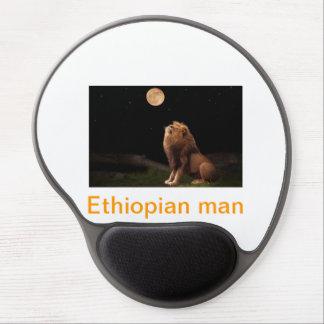 Äthiopischer Mann Gel Mouse Matten