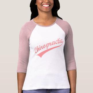 Athletischer Chiropraktik-(rosa) T - Shirt