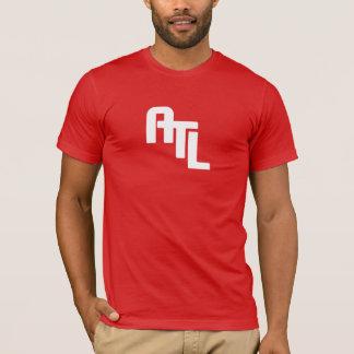 ATL Logo, Rückseite Zeitlimit-Logos an T-Shirt
