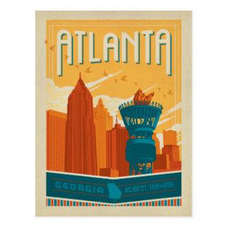 Atlanta, GA - EST. 1845 Postkarte