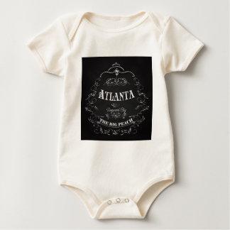 Atlanta, Georgia - der große Pfirsich Baby Strampler