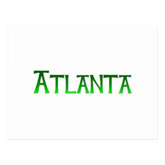 Atlanta Georgia Postkarte