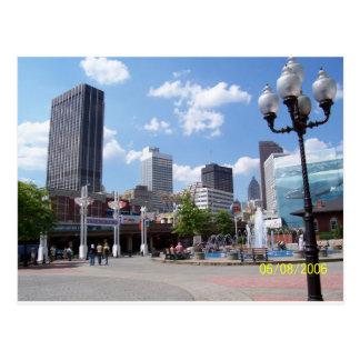 Atlanta Postkarte