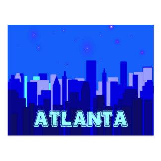 Atlanta-Postkarte Postkarte
