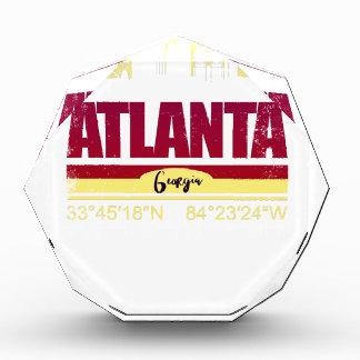 Atlanta-Schmutz Georgia-Skyline Acryl Auszeichnung