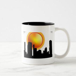Atlanta-Sonnenschein Zweifarbige Tasse