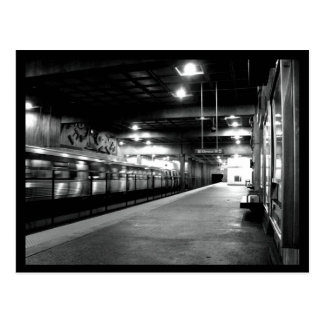 Atlanta-U-Bahnstation Postkarte