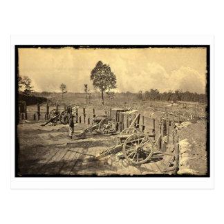 Atlanta, ziviler Krieg GA US Postkarte