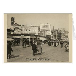 Atlantic City 1922 Grußkarte