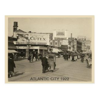 Atlantic City 1922 Postkarte