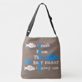 Atlantik-Küste neues eastcoast glückliche Tragetaschen Mit Langen Trägern