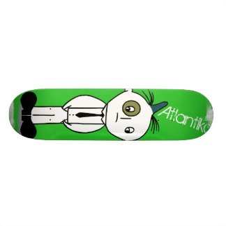 Atlantiko Grün Personalisierte Skatedecks